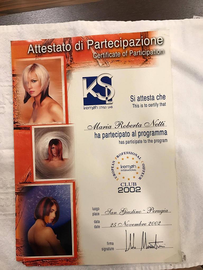 Roberta Netti, Piero Nitti, Roberta e Piero Conversano, Parrucchiere, Conversano