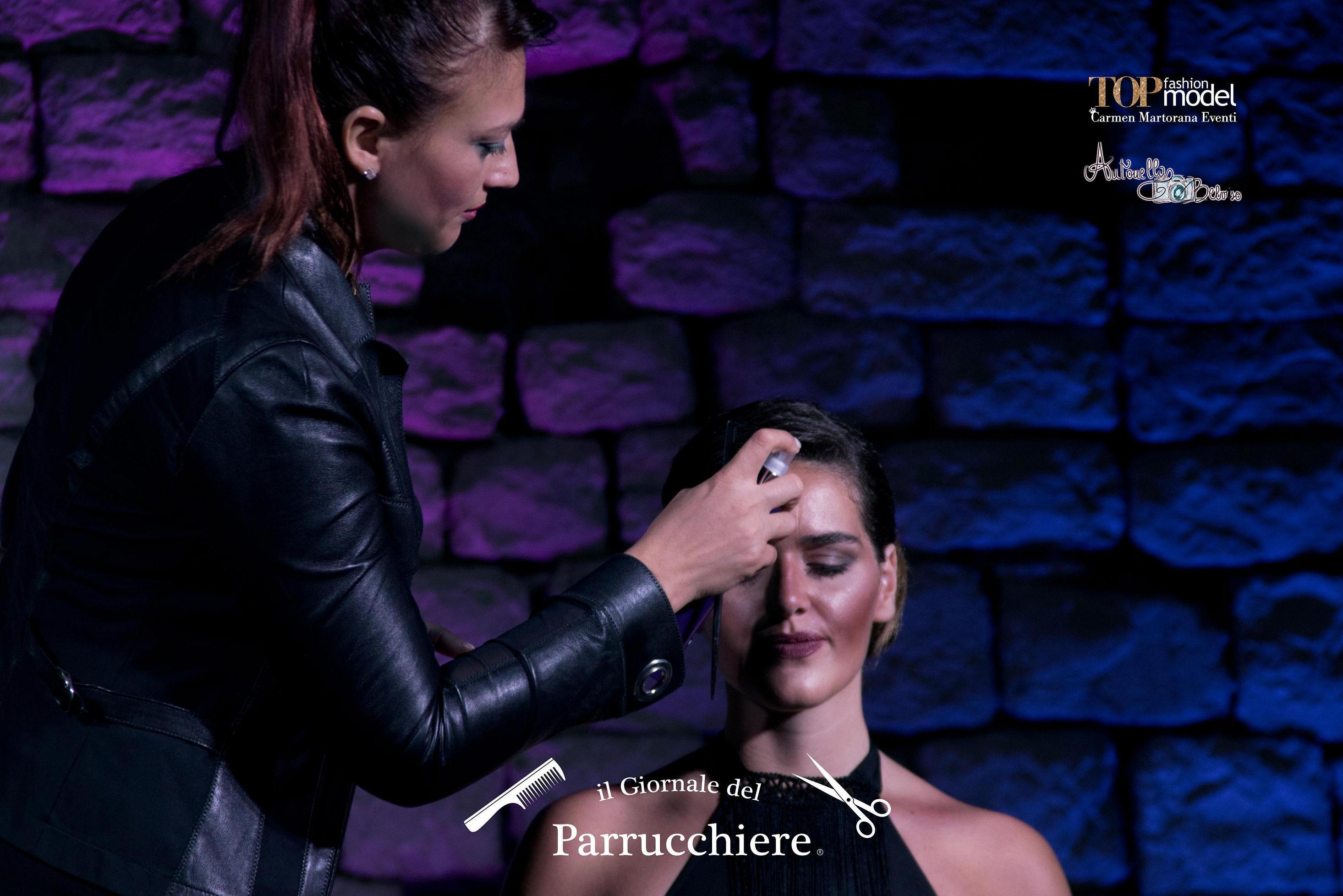 Gioele de Liso, il Giornale del Parrucchiere, Top Fashion Model, Maria Carmen Martorana