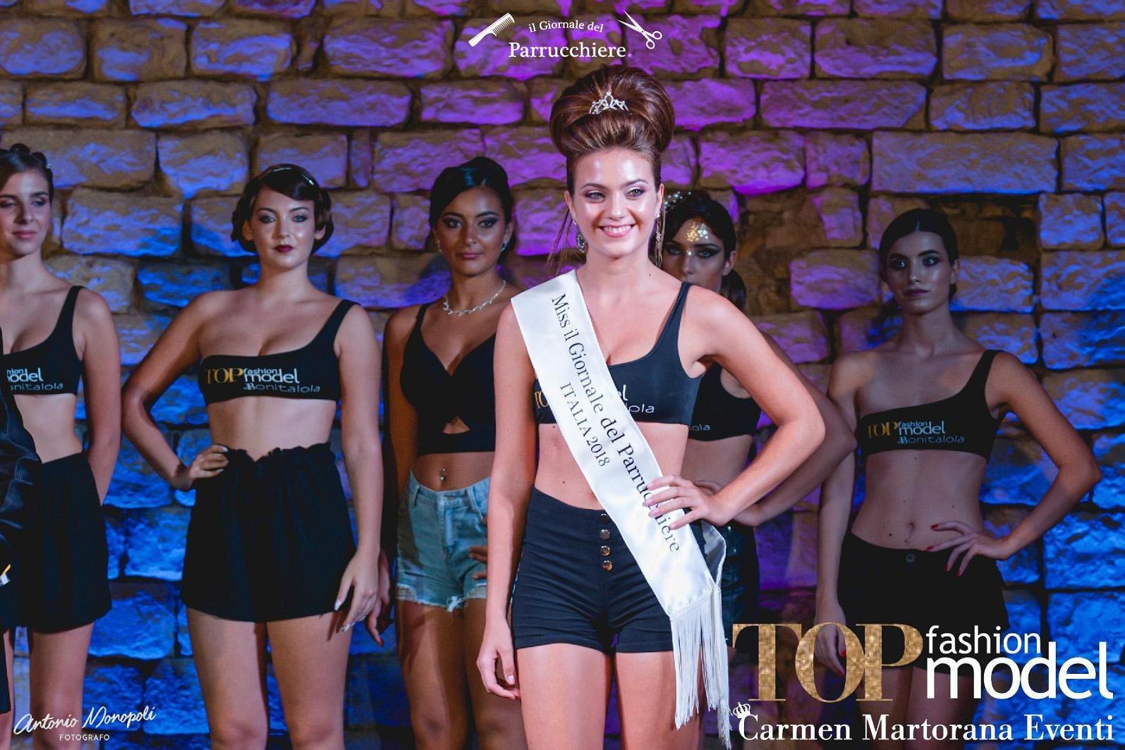 Lucia Lucy Bello, Miss il Giornale del Parrucchiere, Gioele de Liso, Miss Italia 2018, Mola di Bari, Giovinazzo