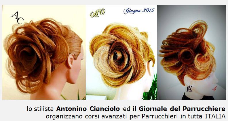 Antonino Cianciolo, stilista, hair stylist