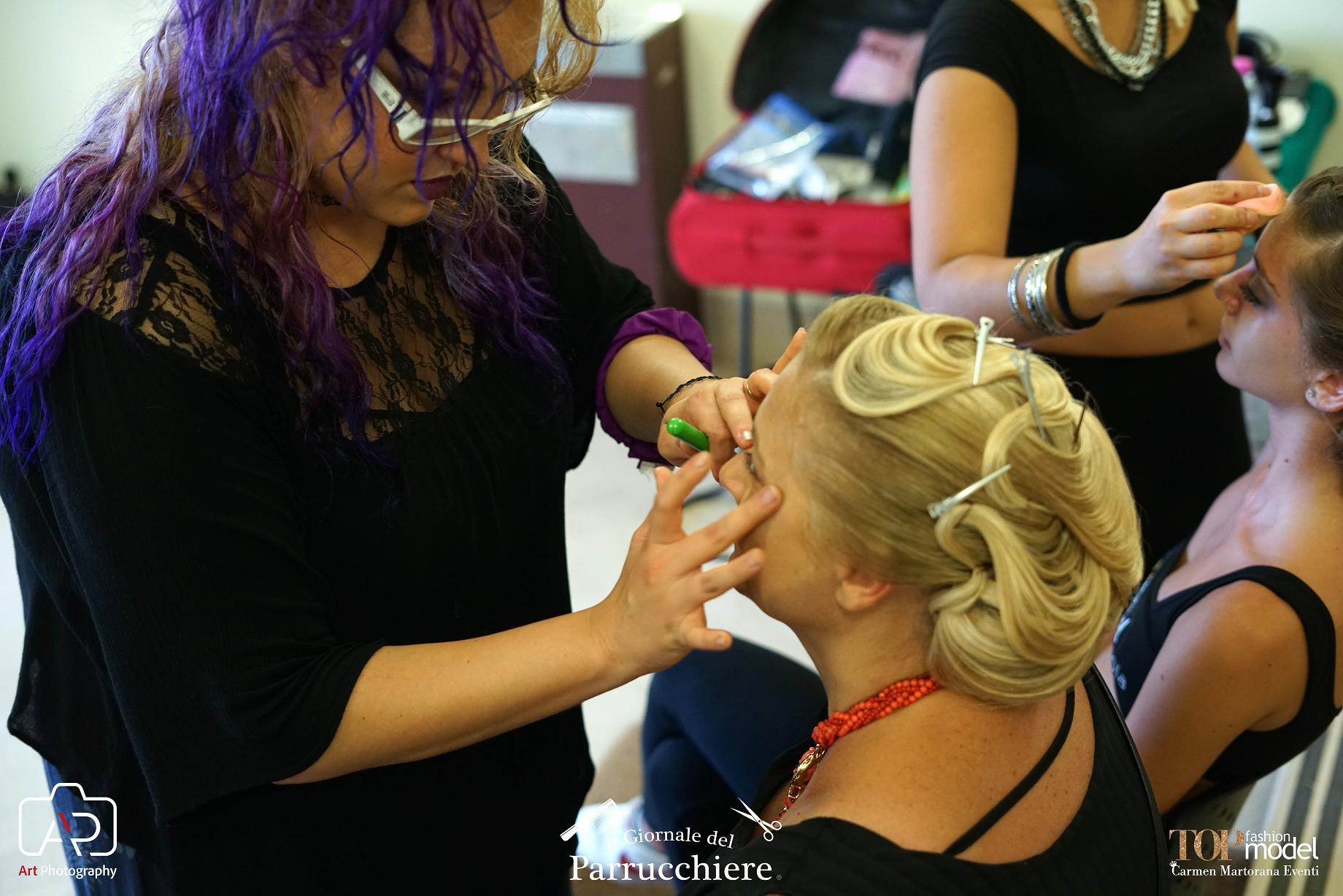 Erika Epifania, Make up Artist, Bari, il Giornale del Parrucchiere