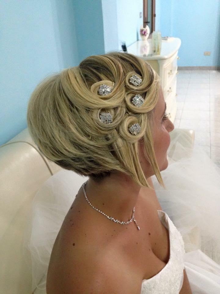 taglio corto, Biondo Mariana Ranieri Hair Designer, Parrucchiere Modugno