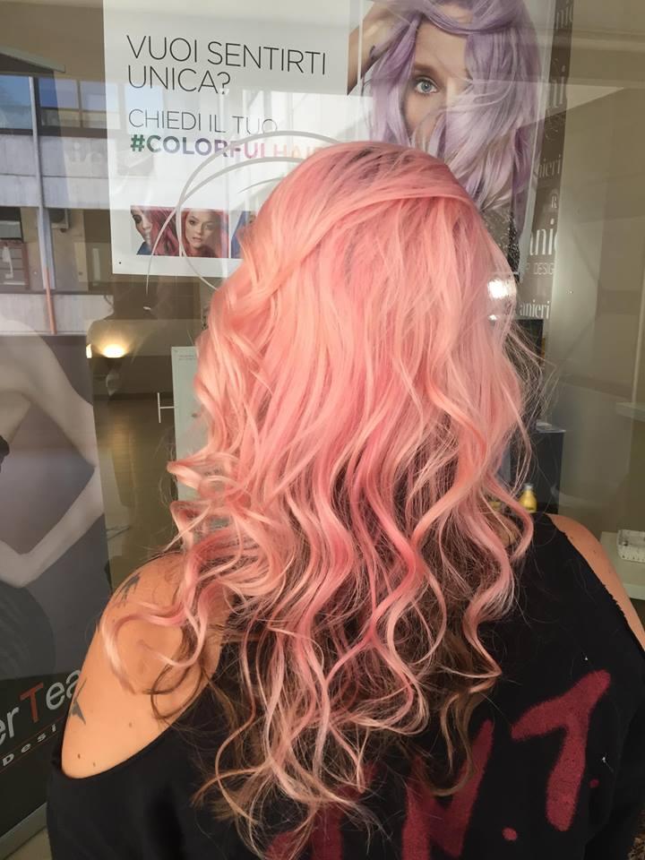 capelli Rosa, Mariana Ranieri Hair Designer, Parrucchiere Modugno