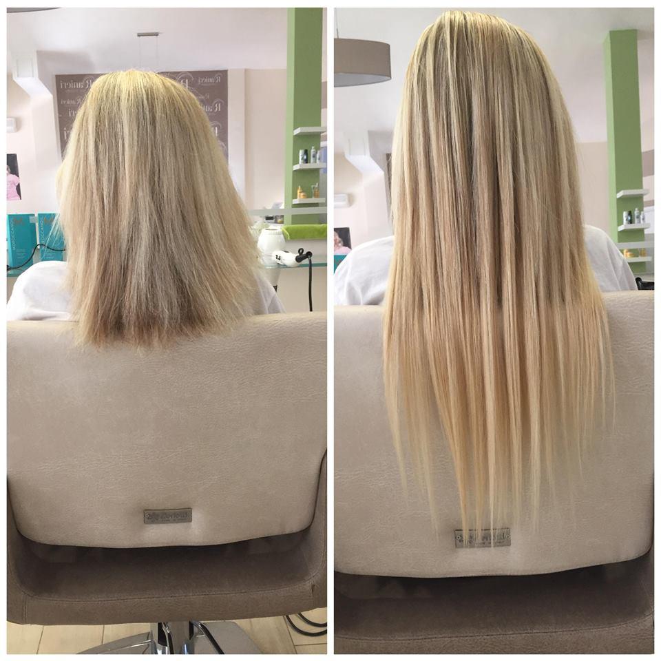 capelli biondi lisci, Mariana Ranieri Hair Designer, Parrucchiere Modugno