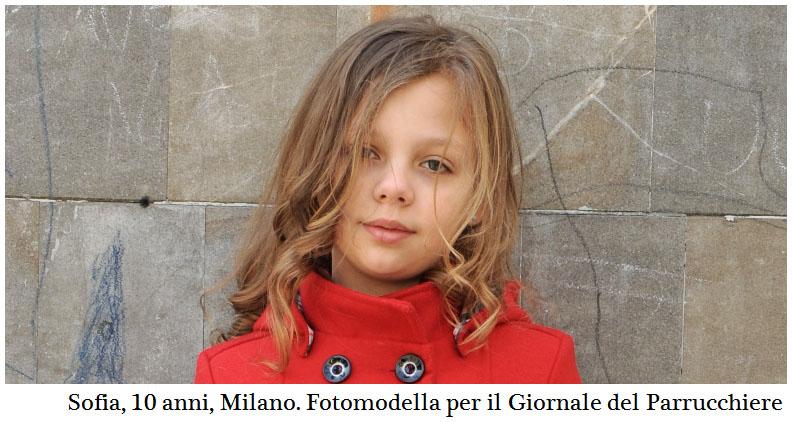 Sofia, tendenze bambini 2016 capelli e moda